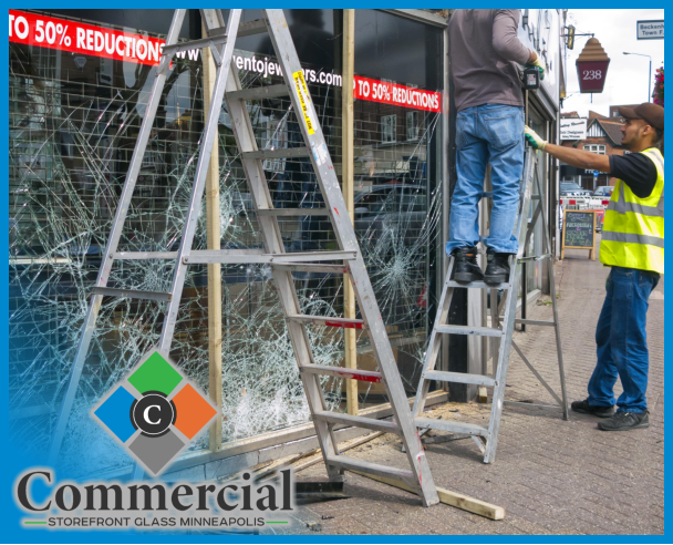 84 commercial storefront glass minneapolis repair install storefront replacement 1
